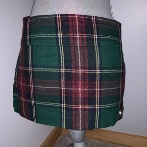 Abercrombie Plaid Flannel like Skirt